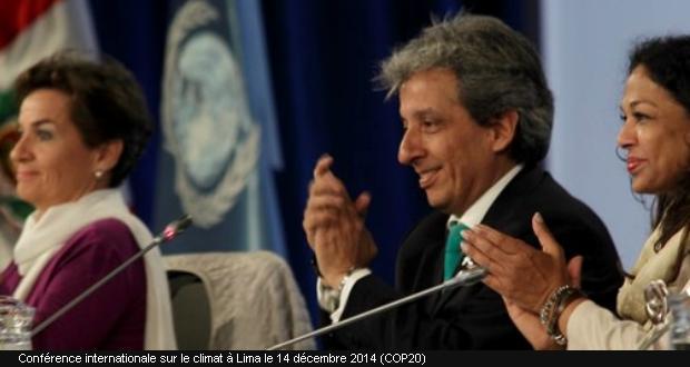 COP20 à Lima le 14 décembre 2014