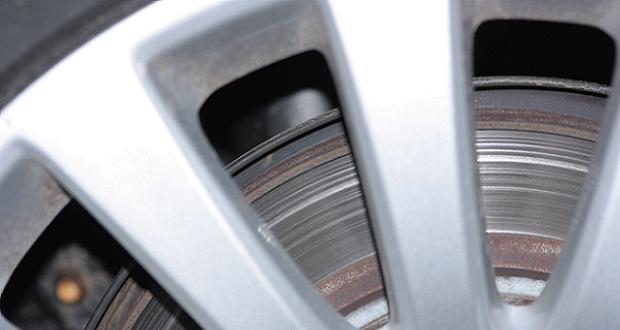 Roue frein disque
